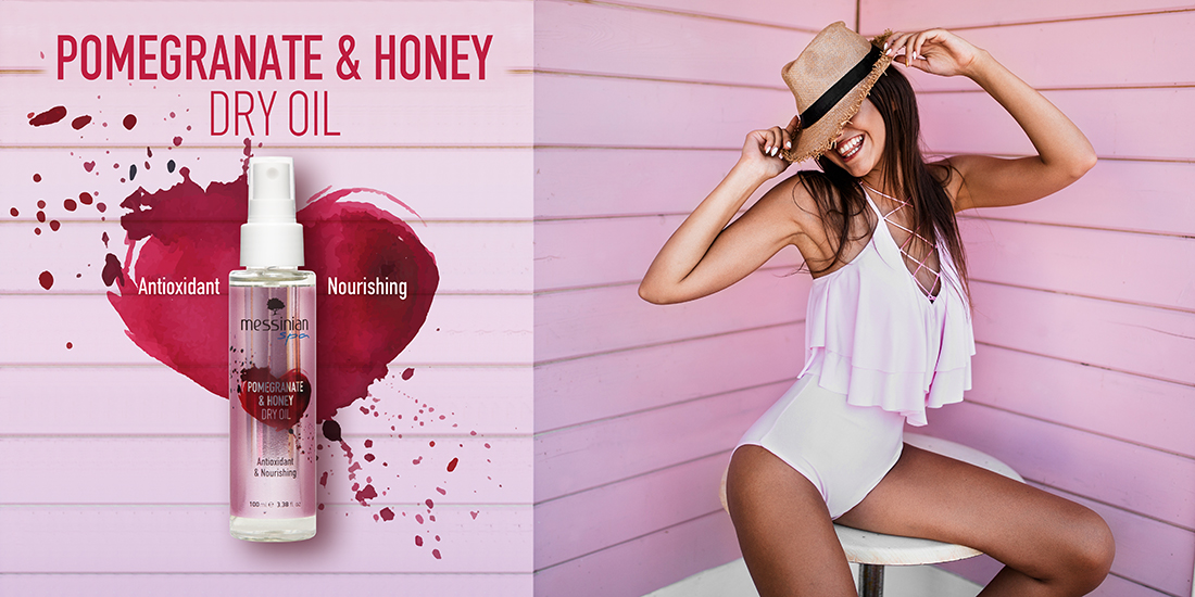 Pomegranate & Honey Dry Oil