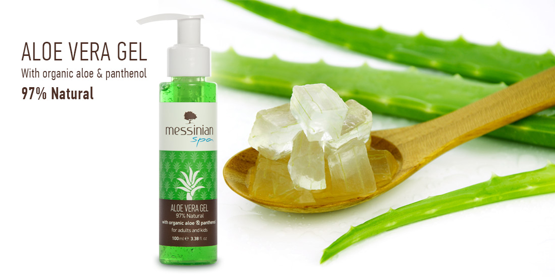 Aloe Vera Gel - Aloe and Panthenol