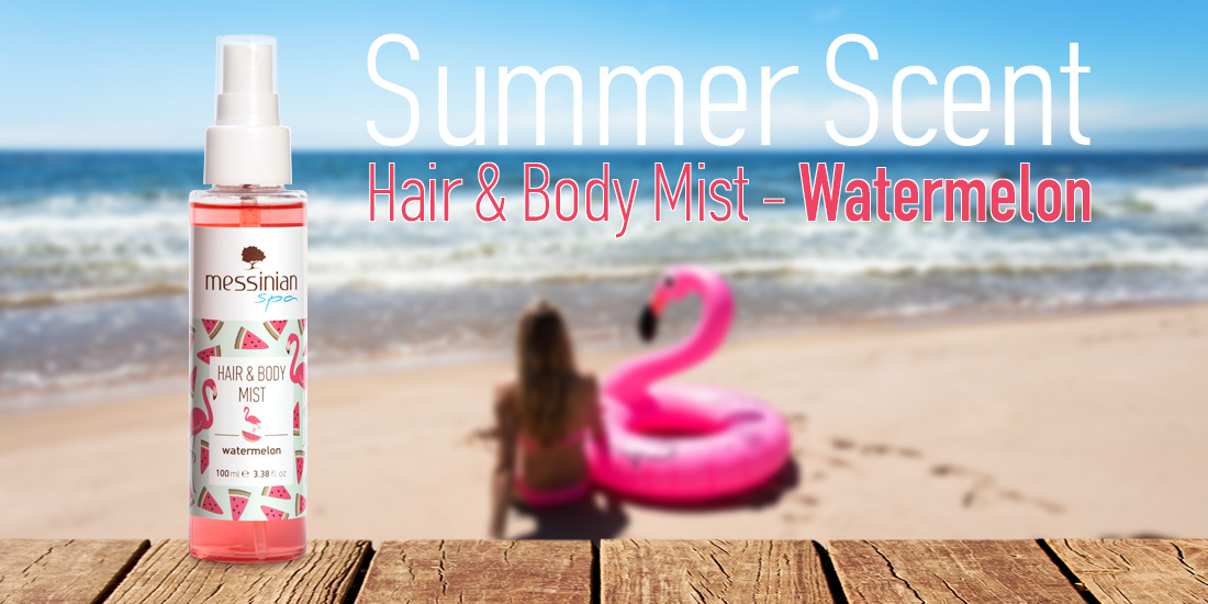 Messinian Spa -Hair & Body Mist - Watermelon