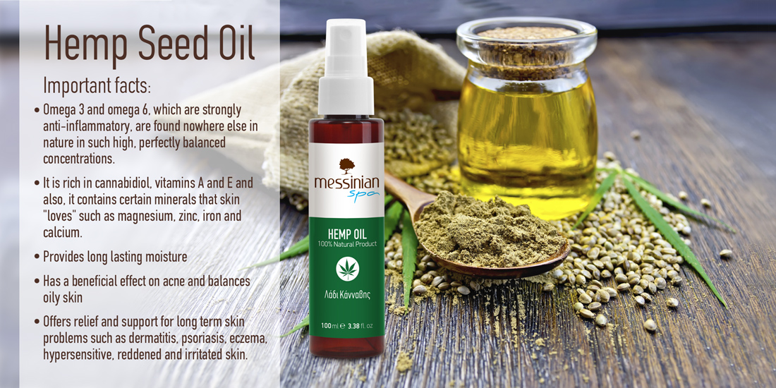 Messinian Spa - Pure hemp oil